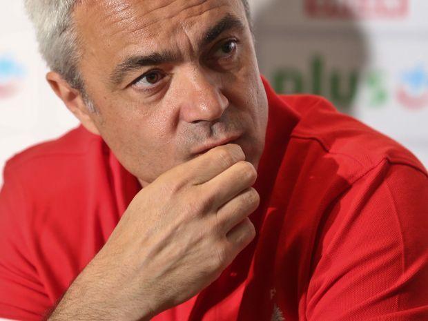 Anastasi jest zawiedziony postawą swojej drużyny (fot. PAP/Rafał Guz)