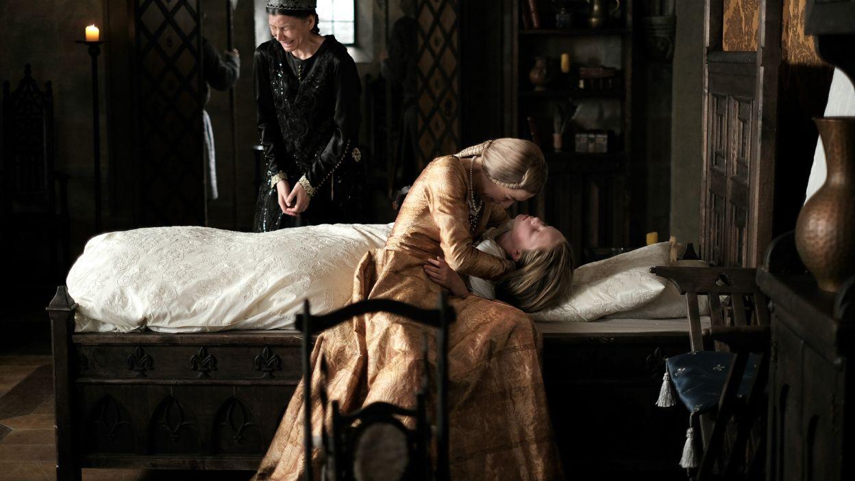 Ambicje Habsburgów musiały jednak poczekać. W Budzie doszło do tragedii. Siostra Jadwigi – Katarzyna zmarła na nagłą chorobę (fot. TVP)