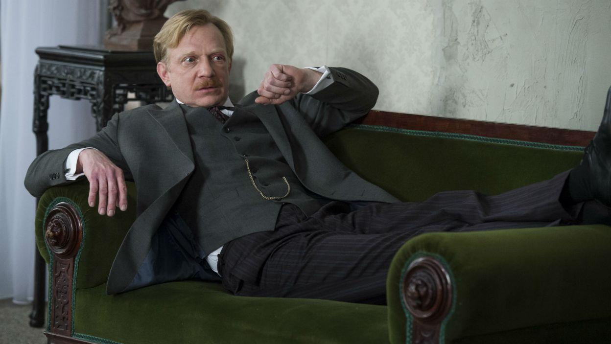W roli Barona Kręckiego pojawi się Arkadiusz Janiczek (fot. Jan Bogacz/TVP)