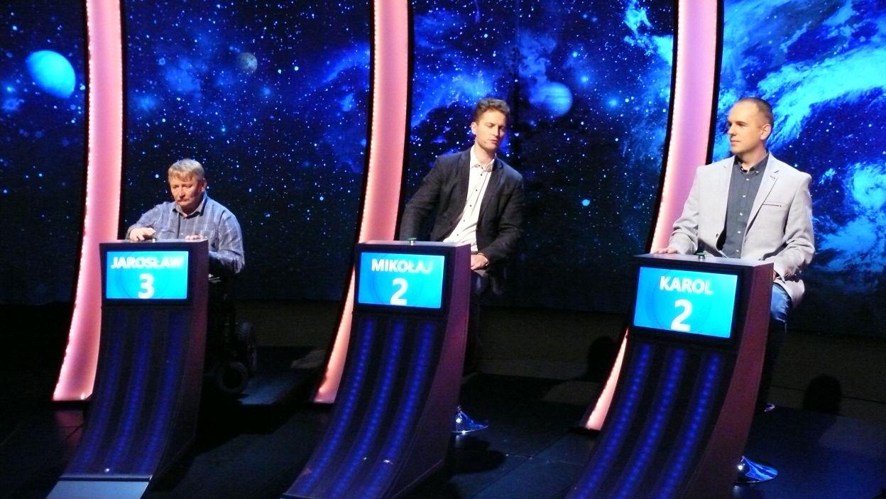 Trzech finalistów 14 odcinka 116 edycji