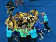 Szwedzi cieszyli się z awansu do półfinału (fot.Getty Images)