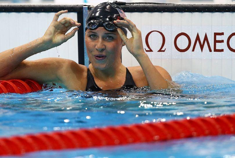 Kathleen Hersey z USA była najszybsza w półfinałach na 200 metrów motylkiem (fot. Getty Images)