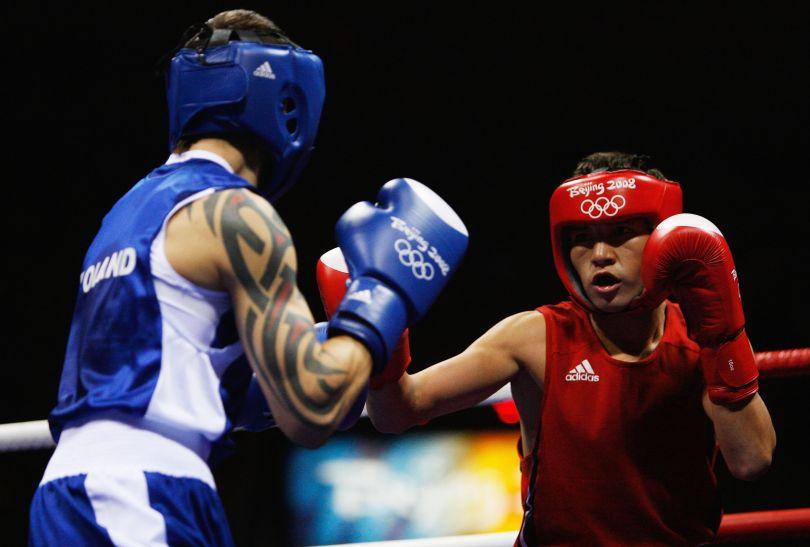 Kaczor rywalizował w wadze muszej (fot. Getty Images)