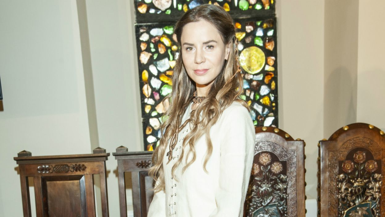 Natalię Lesz zobaczymy jako kapłankę Raganę (fot. Natasza Młudzik)