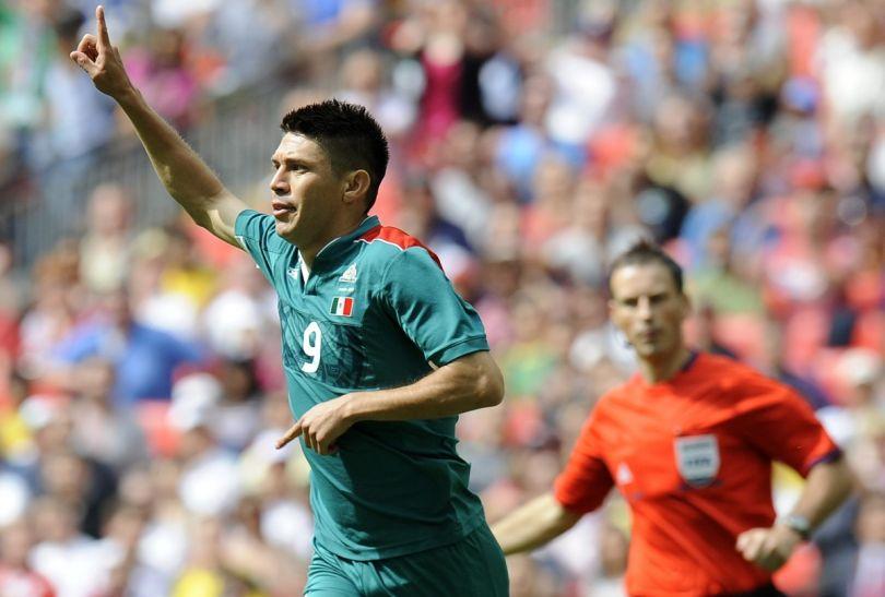 Bohaterem finału okazał się Oribe Peralta (fot. Getty Images)