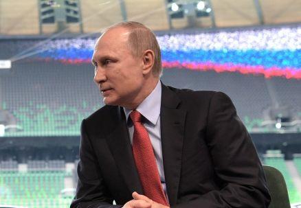 Putin rozda BMW rosyjskim medalistom