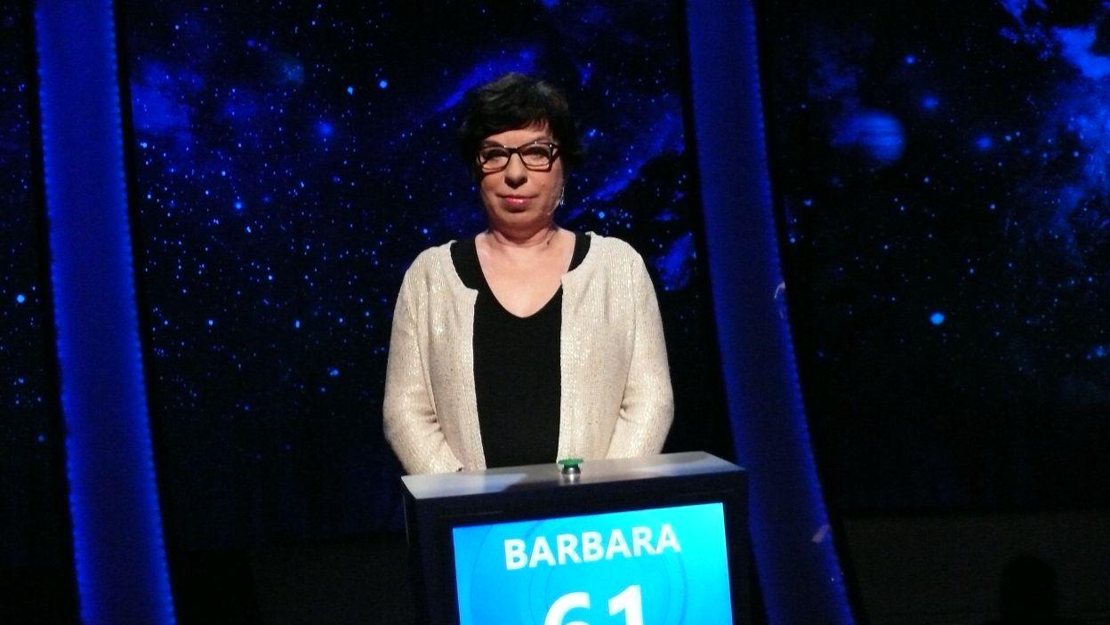 Barbara Bzinkiewicz - zwycięzczyni 1 odcinka 105 edycji