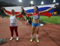 Łysenko wynikiem 78,18 metra ustanowiła nowy rekord olimpijski (fot. Getty Images)
