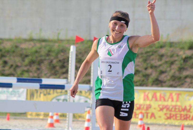 Katarzyna Wójcik podczas mistrzostw Polski (fot. pentathlon.org.pl)