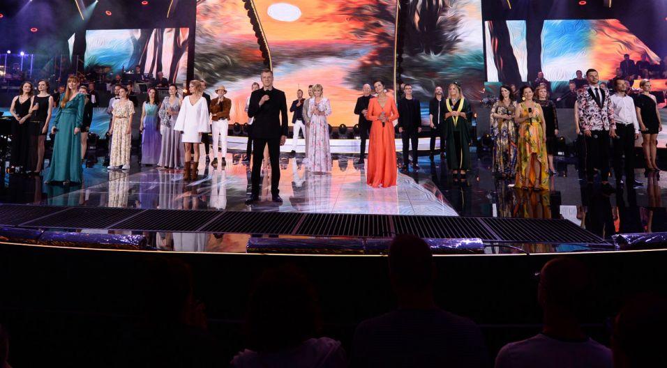 """Koncert """"Walizki moje pełne snów"""" był piękną muzyczną podróżą (fot. J. Bogacz/TVP)"""
