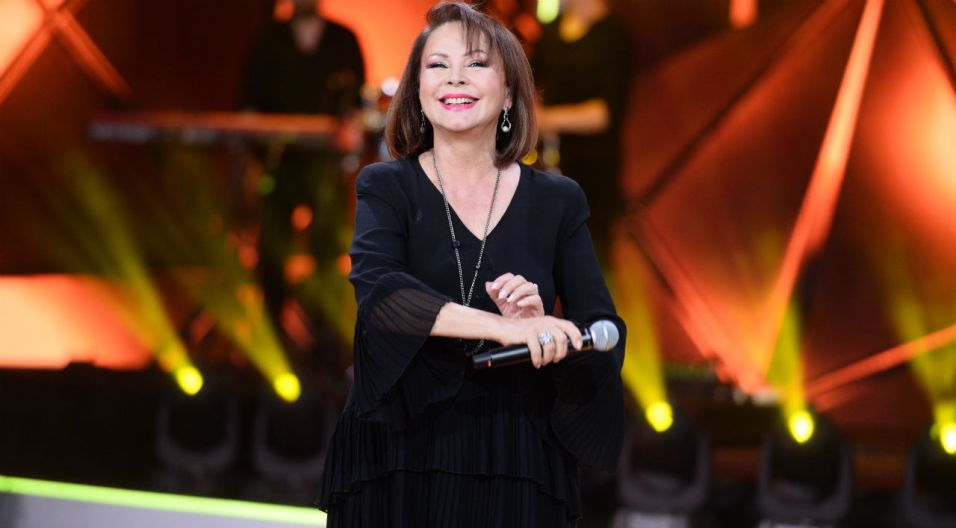 Swoją konkursową piosenkę wykonała także Izabela Trojanowska (fot. J. Bogacz/TVP)
