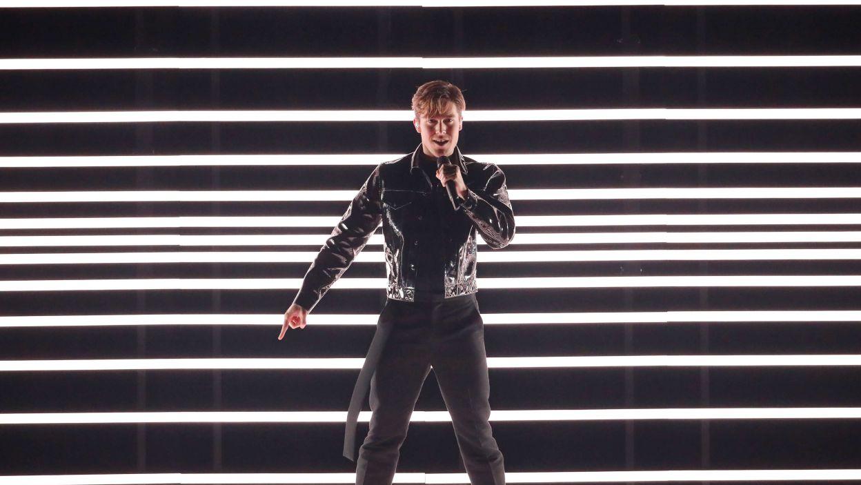 """""""Dance You Off"""" i Benjamin Ingrosso, czyli czas na Szwecję! Ten występ zrobił prawdziwą furorę! (fot. Andreas Putting/eurovision.tv)"""