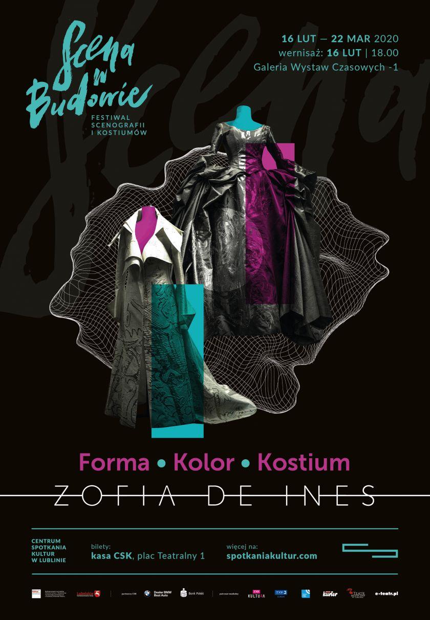 """Wystawa Forma – Kolor – Kostium. Zofia de Ines w ramach Festiwalu """"Scena w Budowie"""""""