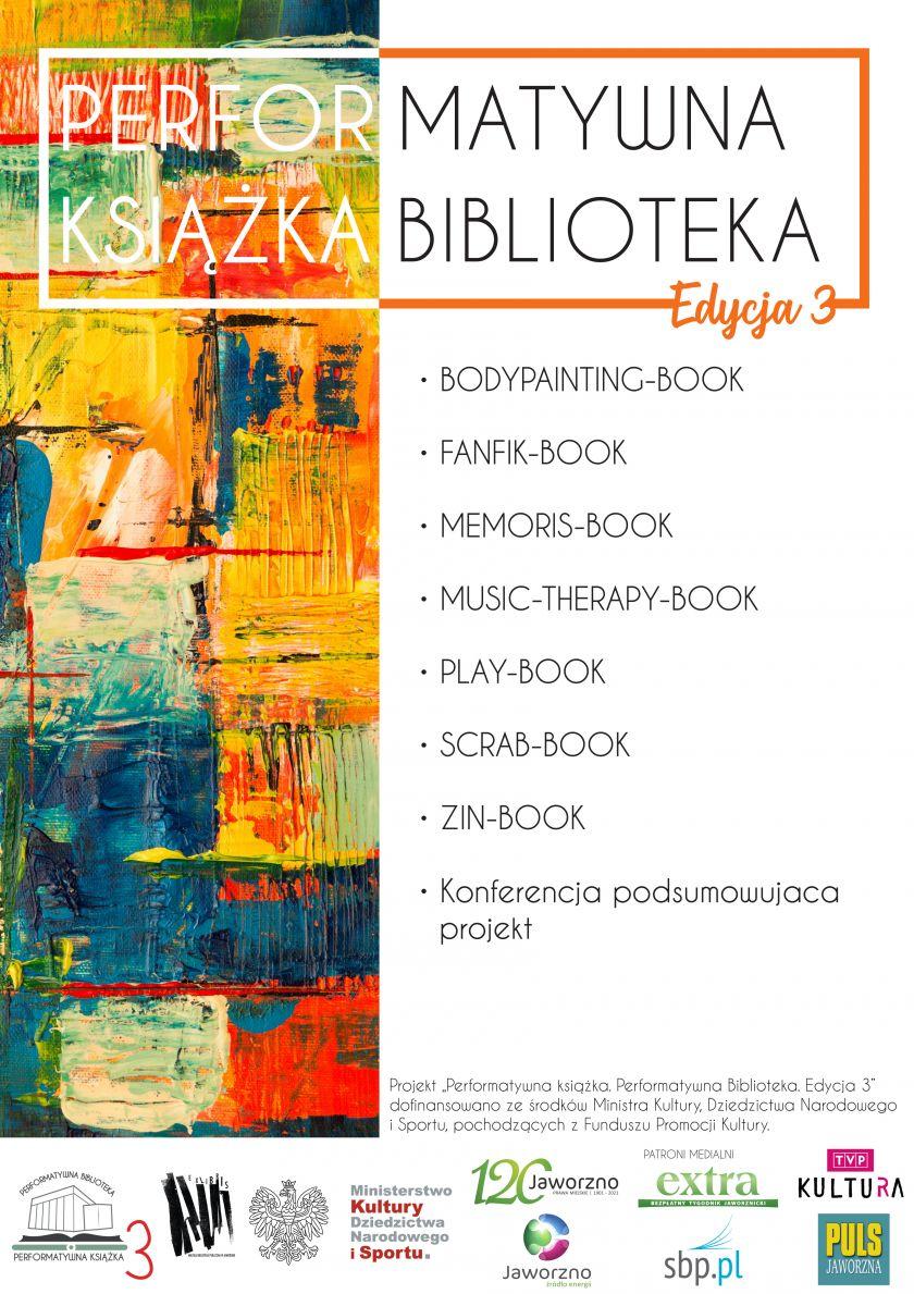 Performatywna książka. Performatywna Biblioteka. Edycja 3