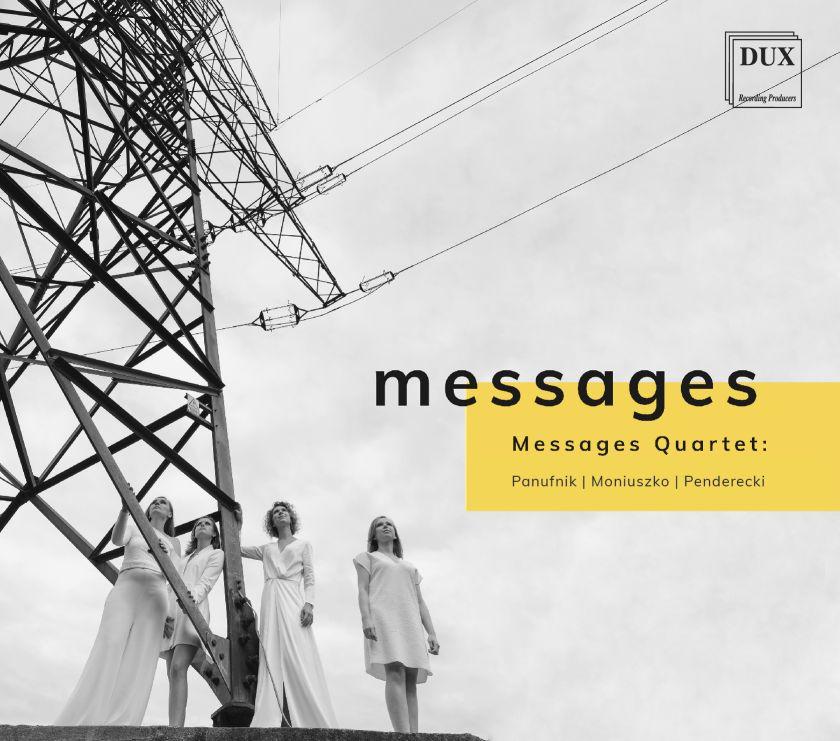 Messages Quartet z drugą płytą w wytwórni DUX