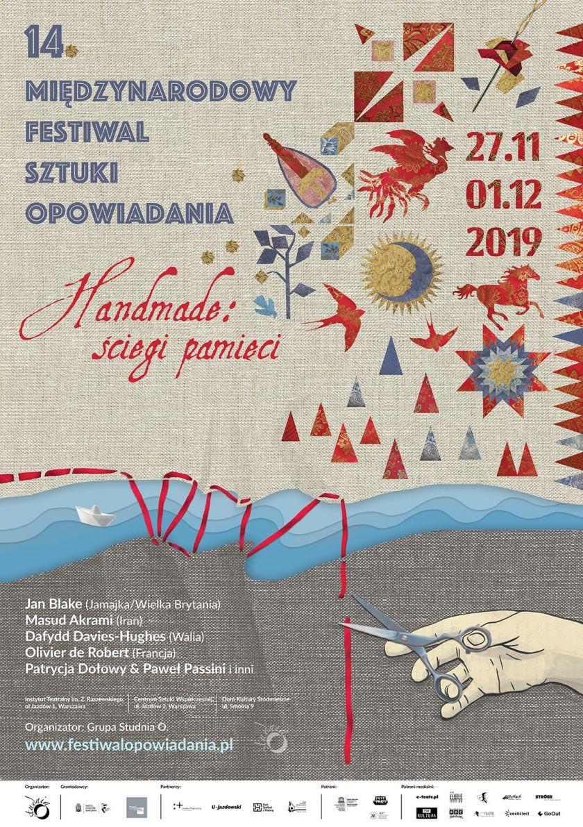 14. Międzynarodowy Festiwal Sztuki Opowiadania w Warszawie