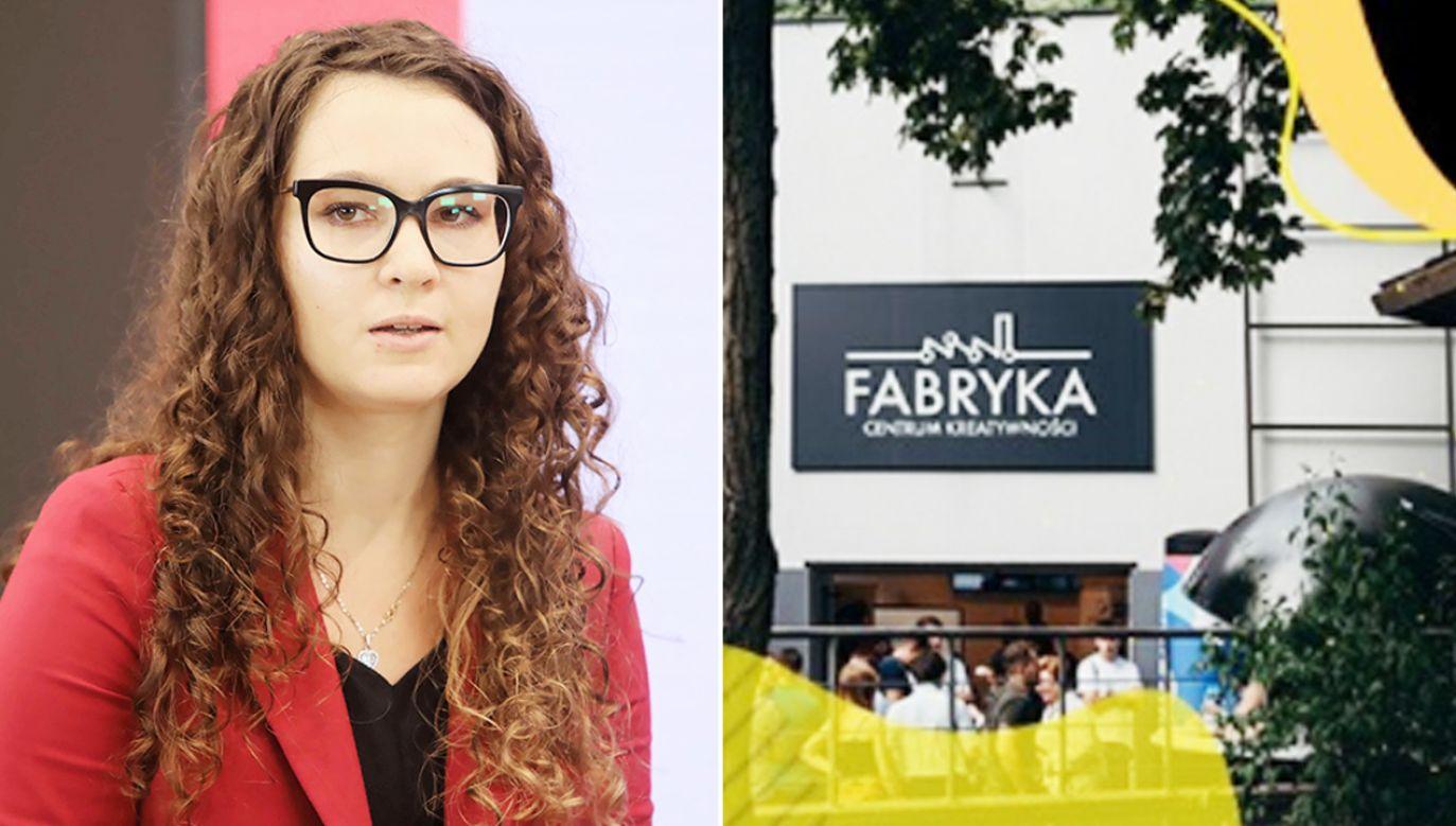 Pełnomocnik premiera ds. GovTech Justyna Orłowska (fot. PAP/Wojciech Olkuśnik; Centrum Kreatywności Fabryka)