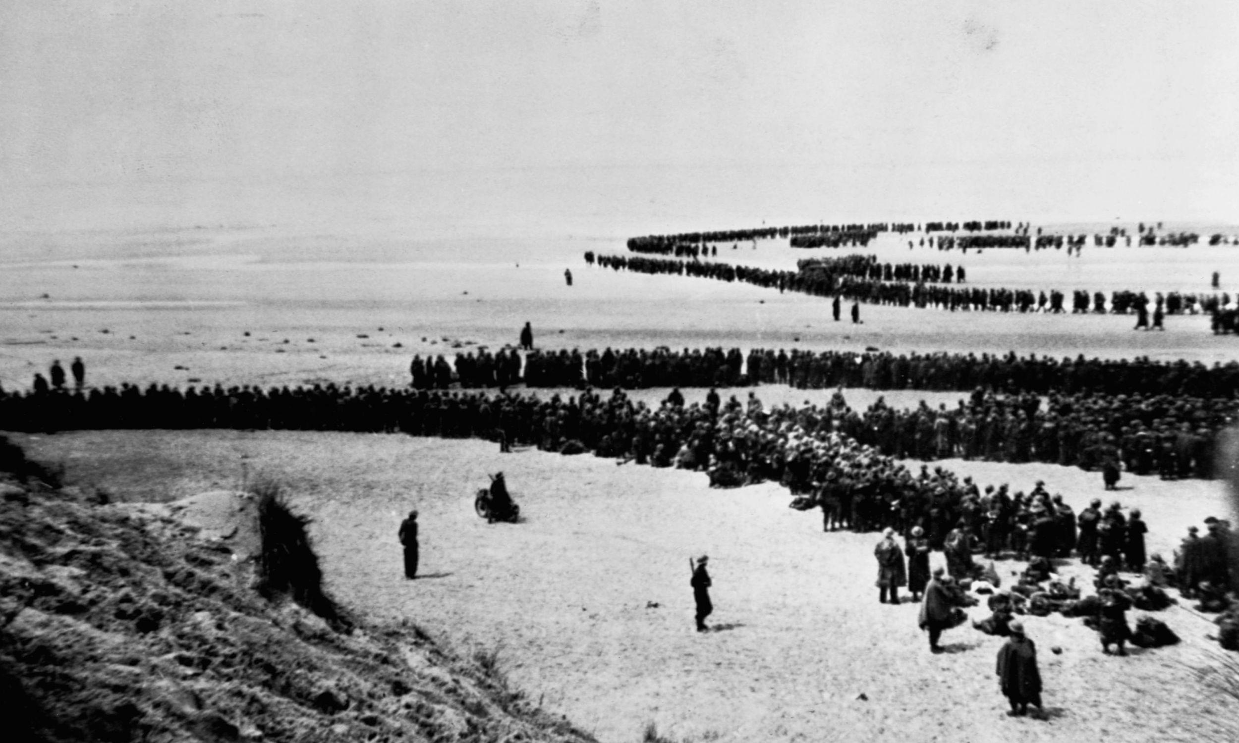 Maj 1940. Oddziały brytyjskie czekają na powrót do domu. Fot. © CORBIS/Corbis via Getty Images