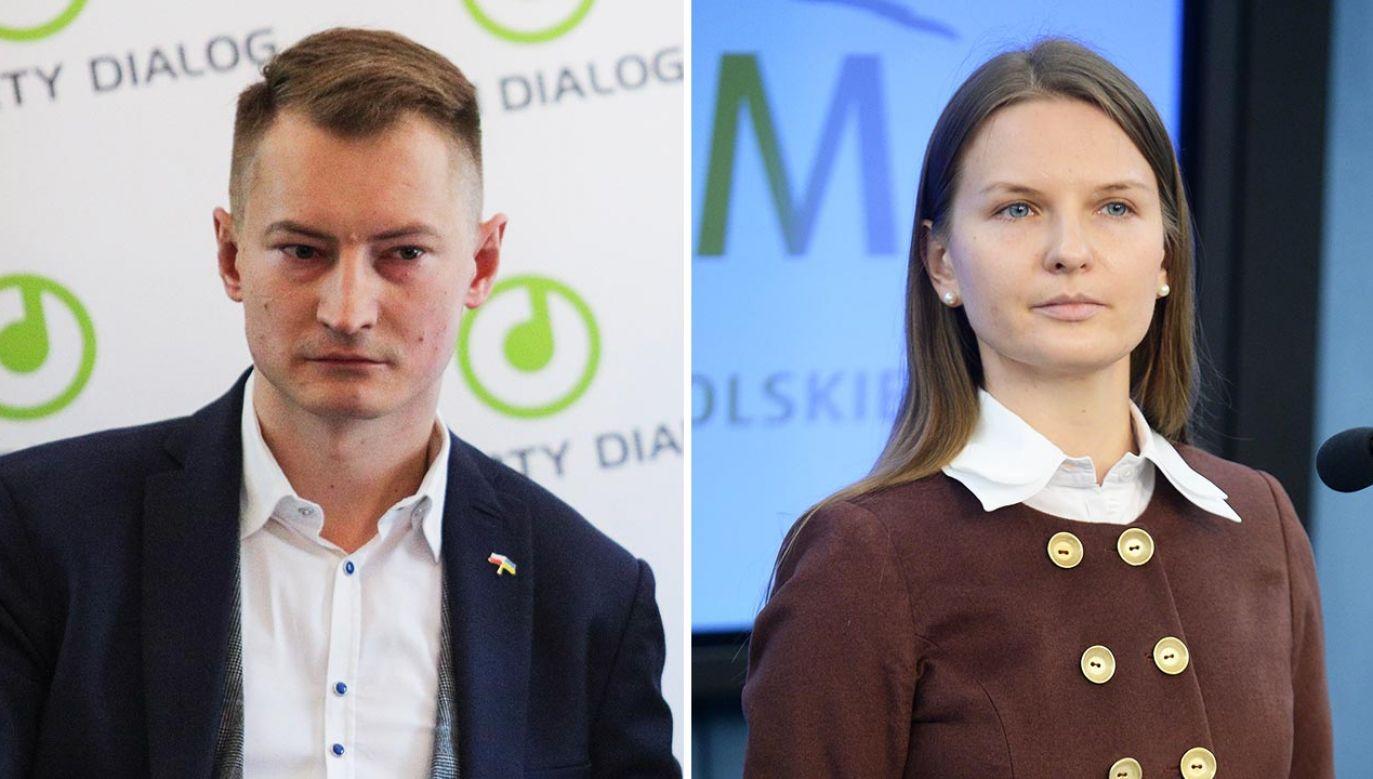 Bartosz Kramek i Ludmiła Kozłowska szefują Fundacji Otwarty Dialog (fot. Forum/Andrzej Hulimka; PAP/Bartłomiej Zborowski)
