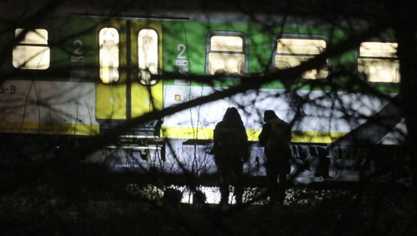 Podróżnym i obsłudze pociągu nic się nie stało  (fot. arch.PAP)
