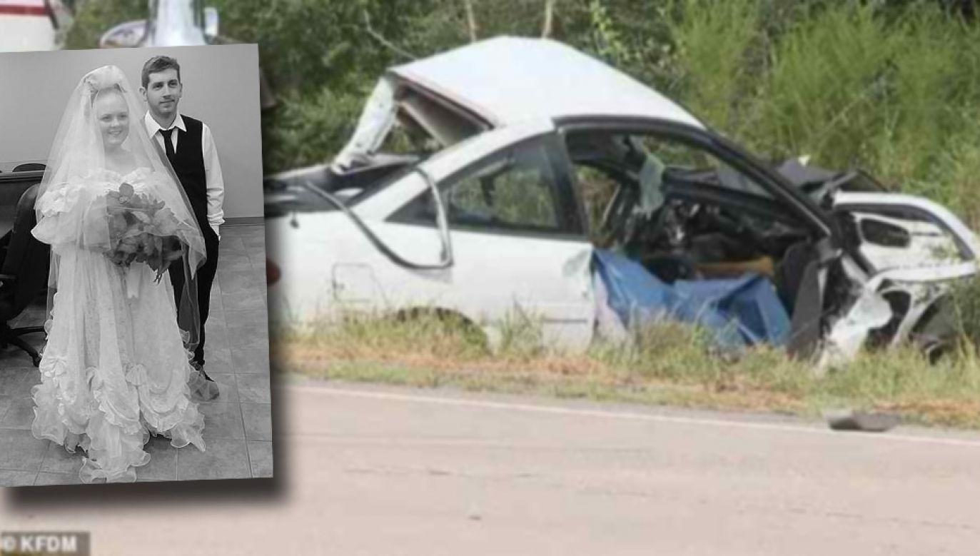 Harley Morgan i Rhiannon Boudreaux zginęli na oczach bliskich (fot. TT/KFDM/FB/Christina Fontenot)