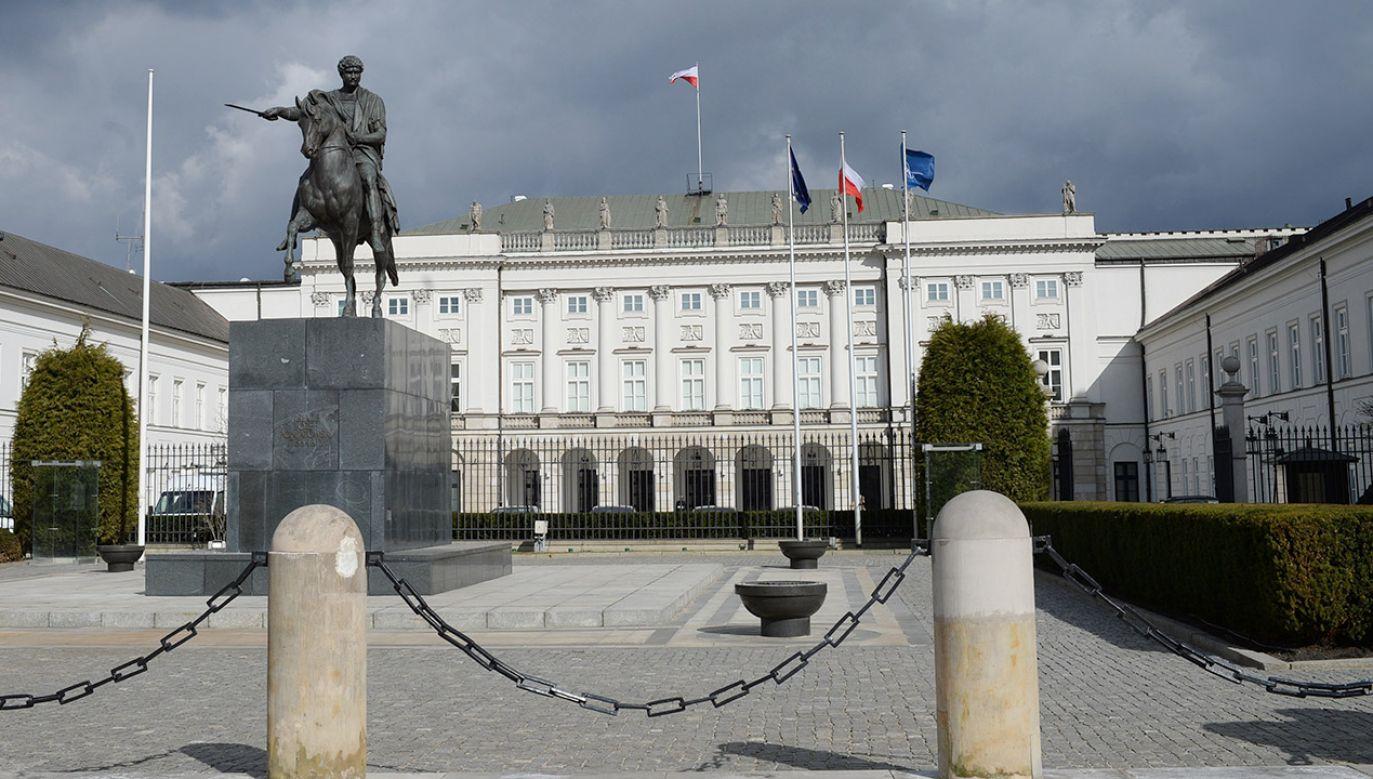 Spotkanie ma się odbyć w środę w pałacu prezydenckim (fot. arch.PAP/Jacek Turczyk)