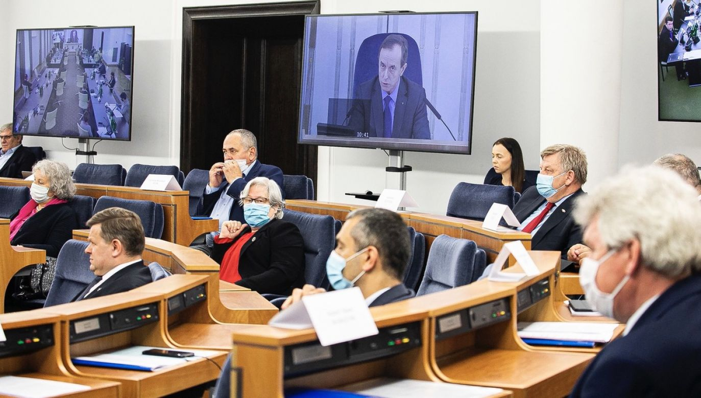 Marszałek Grodzki zaznaczył na Twiterze, że wykonał test za własne pieniądze (fot. Marta Marchlewska/Kancelaria Senatu)