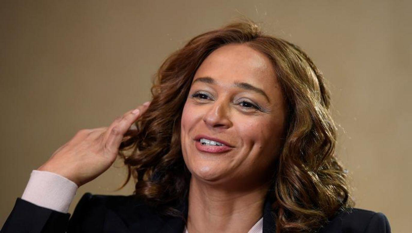 Dos Santos uznawana jest za najbogatszą kobietę Afryki (fot. REUTERS/Toby Melville)