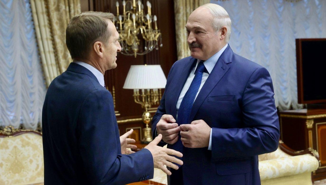 Demonstracja ma być wyrazem poparcia dla polityki Aleksandra Łukaszenki (fot. PAP/EPA/NIKOLAI PETROV)