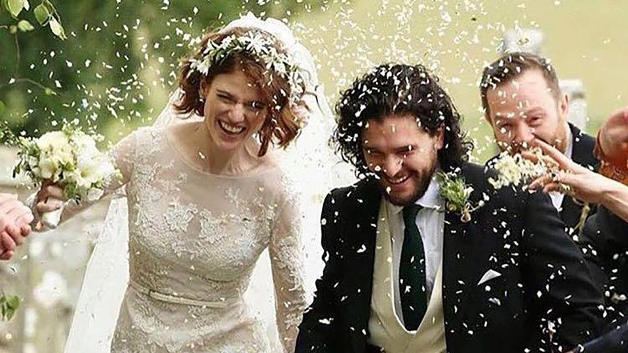 Para poznała się w 2012 r. na planie serialu (fot. Instagram/Kit Harington)