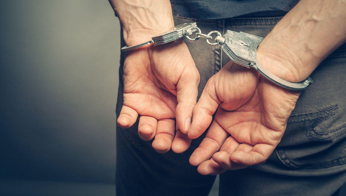 Mężczyzna odbywa teraz karę więzienia (fot. Shutterstock/BortN66, zdjęcie ilustracyjne)