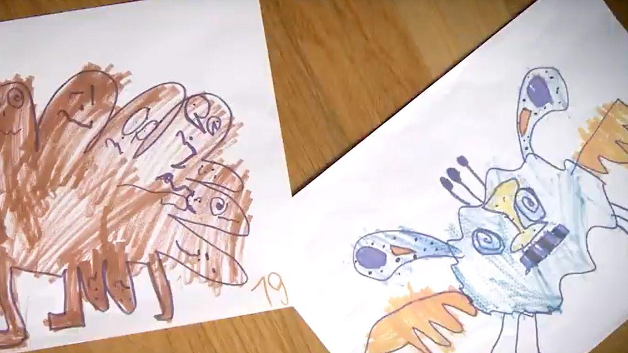 Ilustracje zostały zaprojektowane na podstawie rysunków dziewczynki (fot. YT/Kto mieszka za meblami)