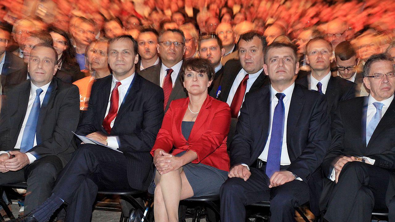 PO w swoich złotych latach - konwencja w 2011 r. (fot. PAP/Roman Jocher)