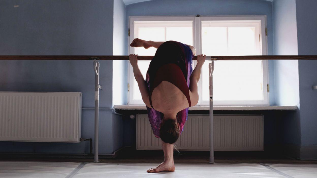Forma, którą reprezentują tancerze to efekt lat ciężkich ćwiczeń, wyrzeczeń i, przede wszystkim, miłości do tańca (Weronika Sieczkarek, fot. Z. Gąsiorowska)