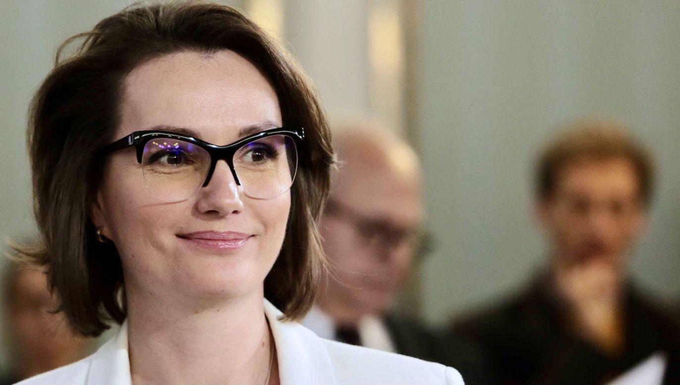 Posłanka Jagna Marczułajtis-Walczak (fot. arch.PAP/L.Szymański)