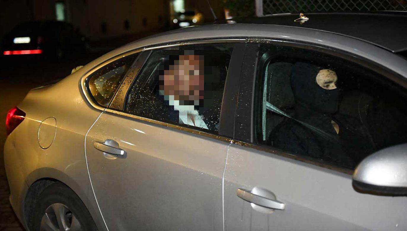Artur W. został wczoraj zatrzymany przez CBA (fot. PAP/Radek Pietruszka)