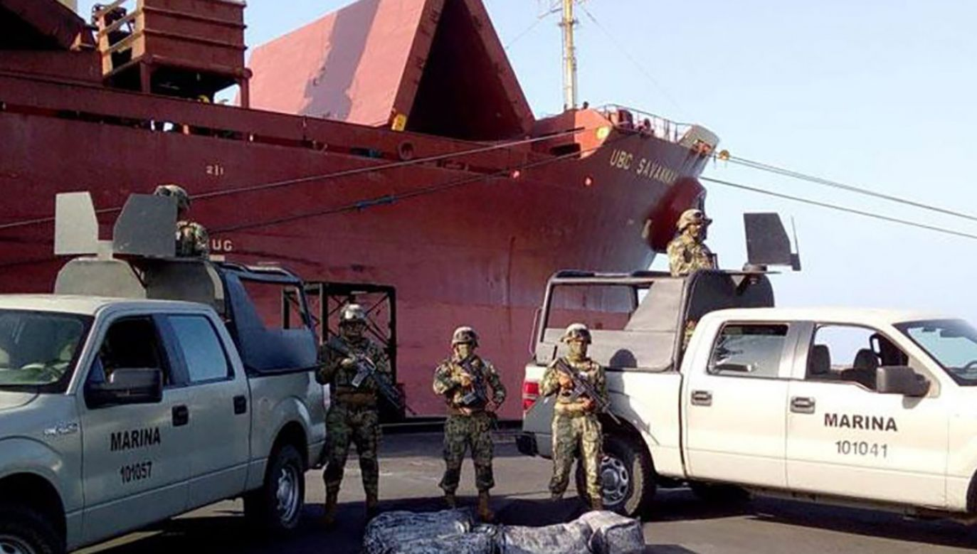 Meksykańskie służby zatrzymały całą załogę. Nikomu nie postawiono zarzutów (fot. policja)