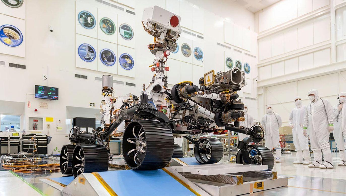 Perseverance, czyli wytrwałość – taką nazwę będzie nosił kolejny łazik marsjański NASA (fot. NASA/JPL-Caltech)