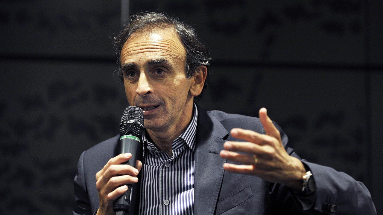Dziennikarz skrytykował m.in. rząd Macrona (fot. Alain DENANTES/Gamma-Rapho via Getty Images)