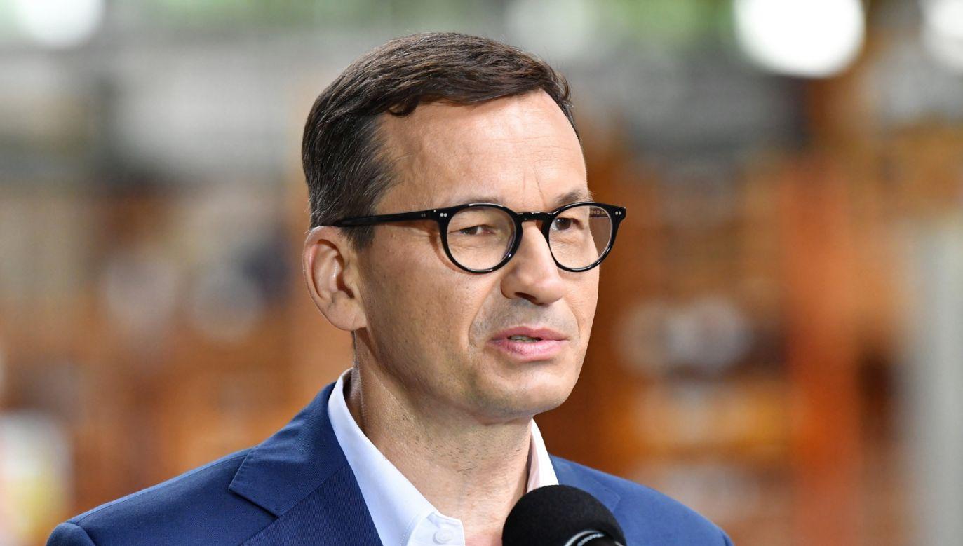 Premier Mateusz Morawiecki (fot. PAP/Grzegorz Michałowski)