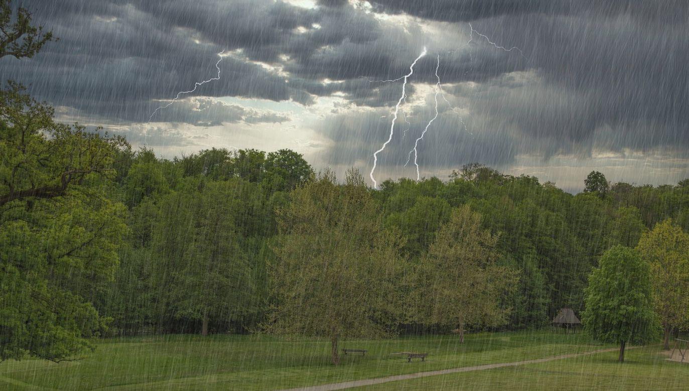 W piątek mogą pojawić się gwałtowne burze (pixabay.com/ guvo59)