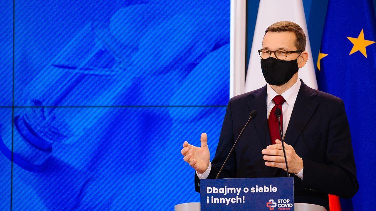 Mateusz Morawiecki (fot. Krystian Maj/KPRM)
