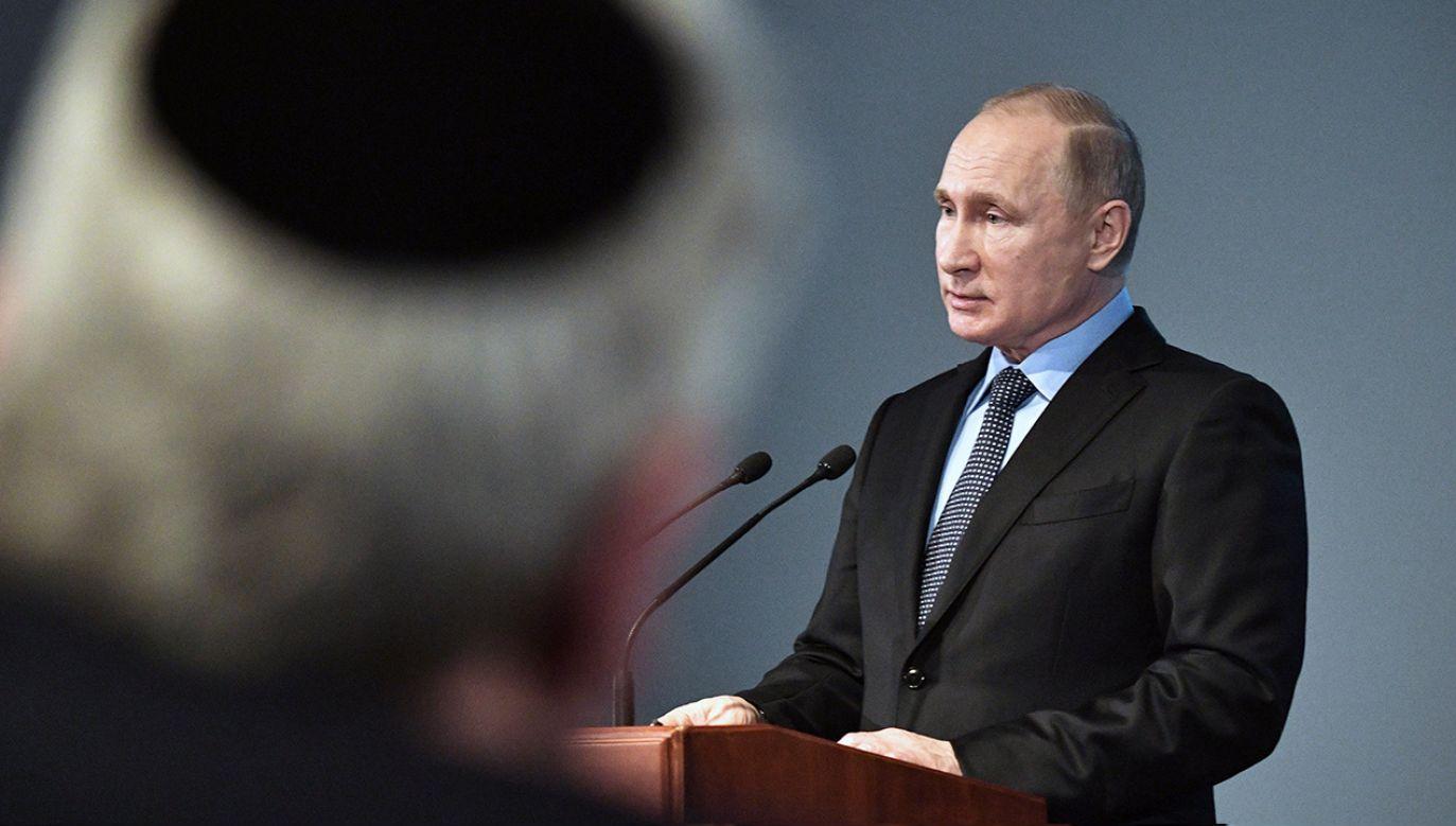 Kandydatka PO na prezydenta uważa, że prezydent Andrzej Duda powinien polecieć do Izraela mimo tego, że nie będzie mógł tam odnieść się do wystąpienia Władimira Putina. (fot. arch. PAP/ ALEXEY NIKOLSKY / SPUTNIK / KREMLIN POOL)