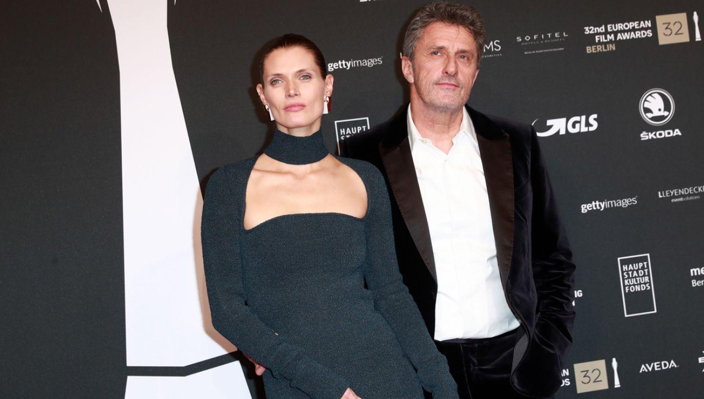 Paweł Pawlikowski (na zdj. z żoną Małgorzatą Belą) dziękował ludziom, którzy oddali na niego głos (fot. PAP/EPA/Hayoung Jeon)