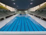 Aquatics center: arena zmagań pływaków (fot. london2012.com)