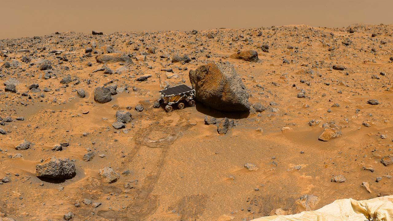 Na Marsie istnieje albo istniało życie? (fot. NASA)