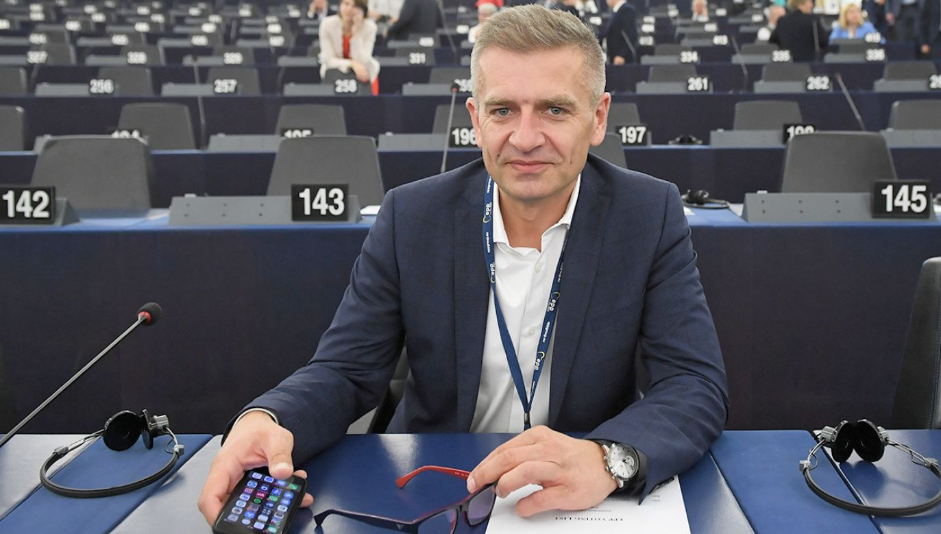 Były minister zdrowia Bartosz Arłukowicz (PO) (fot. PAP/Radek Pietruszka)
