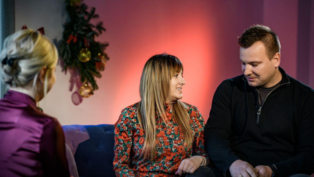 Zakochani wyznali, że niczego nie zmieniliby w swoim życiu (fot. TVP)