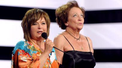 Edyta Jungowska i Ewa Dałkowska (fot. N.Młudzik/TVP)
