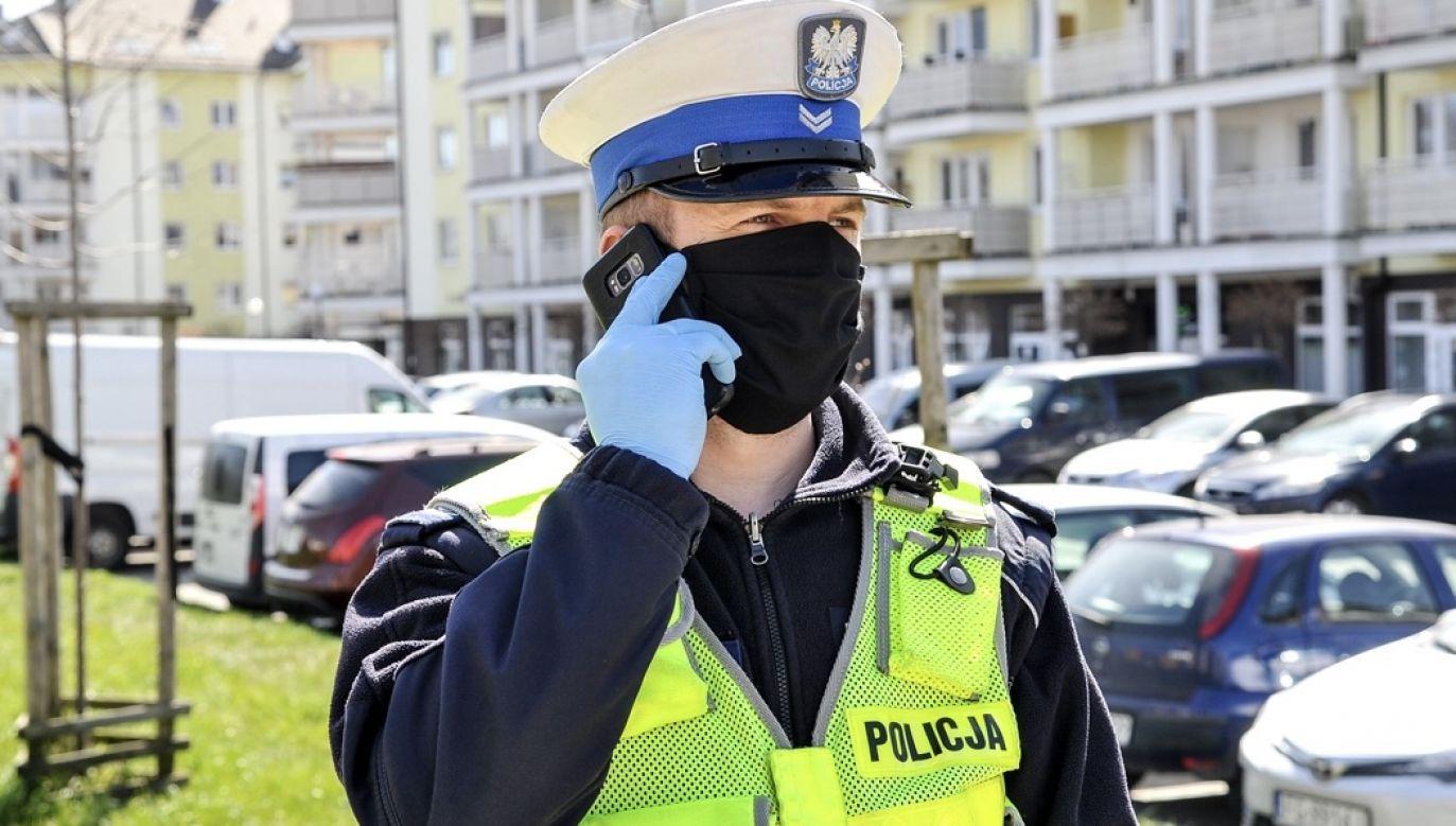 Codziennie do działań prewencyjnych w związku z pandemią zaangażowanych jest około 17-20 tys. funkcjonariuszy (fot. policja.pl, zdjęcie ilustracyjne)